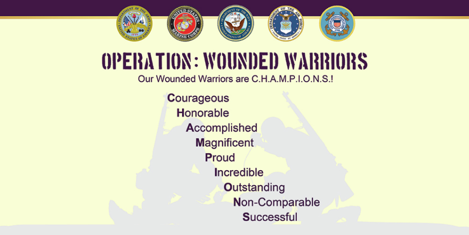 Operation: Wounded warriors